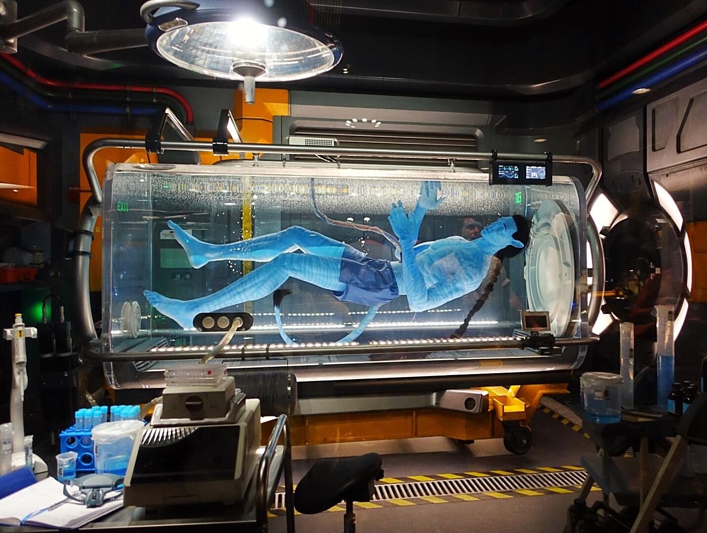 Avatar gigante humanóide Na'vi