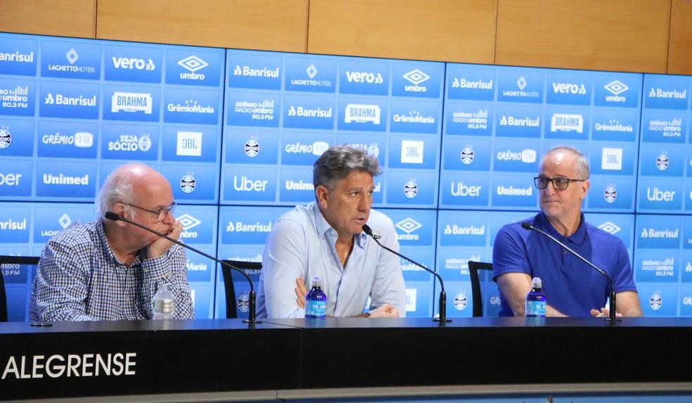 Duda Kroeff deixou o futebol do Grêmio  — Foto: Eduardo Moura