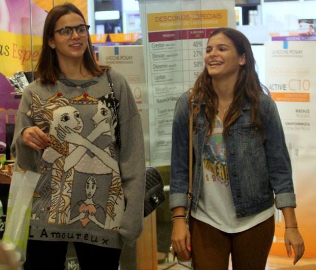 Bruna e Luana Marquezine (Foto: J Humberto/AgNews)