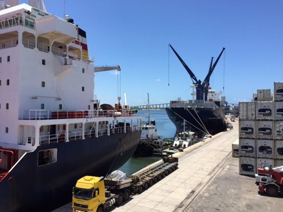 Porto de Natal é administrado pela Companhia Docas do Rio Grande do Norte — Foto: Codern