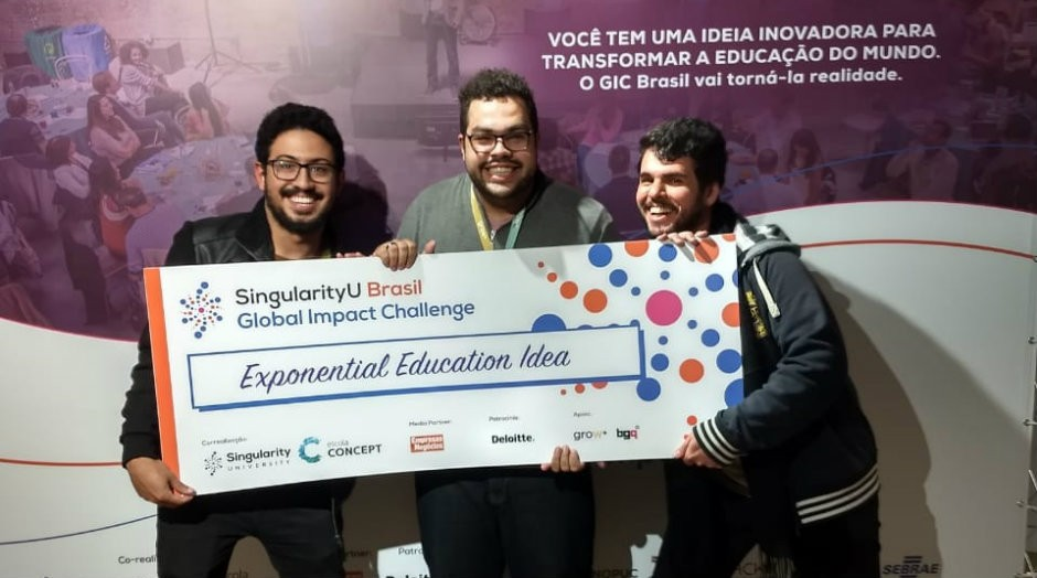 MedRoom venceu a grande final do Global Impact Challenge Brasil 2018  (Foto: Reprodução)