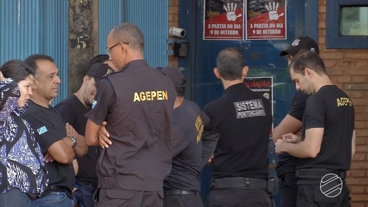 Agentes penitenciários paralisam parte das atividades em MS