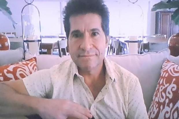 Daniel é padrinho do Teleton, campanha em prol da AACD (Foto: Lourival Ribeiro/SBT)