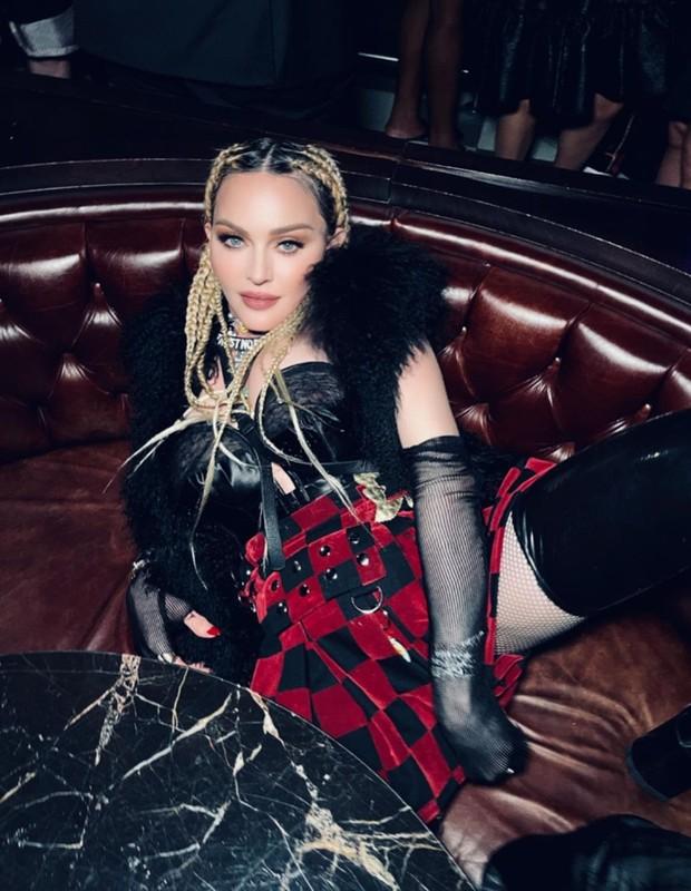 Madonna em festa privada de lançamento de Madam X (Foto: Reprodução/Instagram)