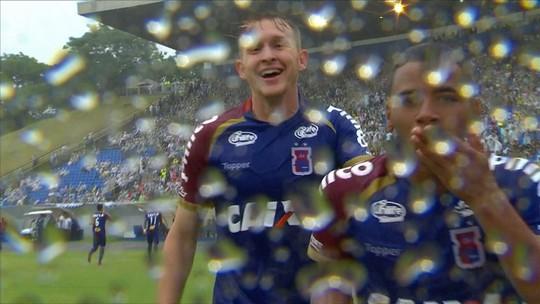 Estreia como titular e gol no líder: Keslley dá trabalho ao Palmeiras, realiza sonho e brilha no Paraná