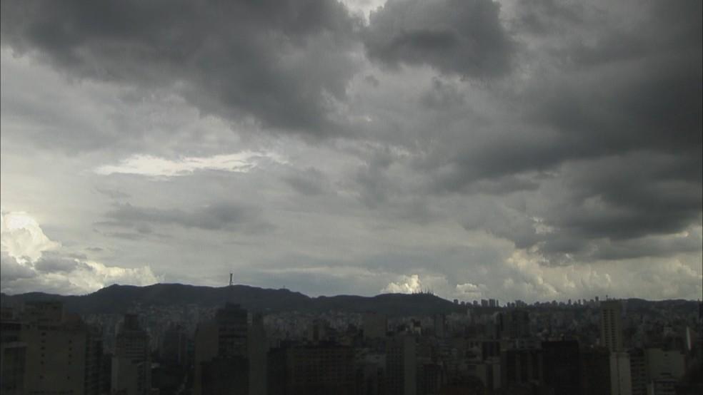 Defesa Civil alerta para possibilidade de chuva neste sábado — Foto: Reprodução/TV Globo