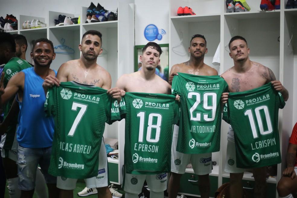 Todinho iniciou a reação do Guarani no dérbi 196 — Foto: David Oliveira/ Guarani FC