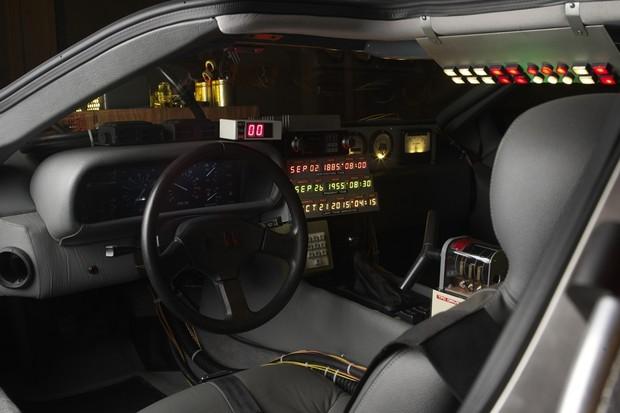 DeLorean DMC-12 De Volta para o Futuro (Foto: Divulgação)