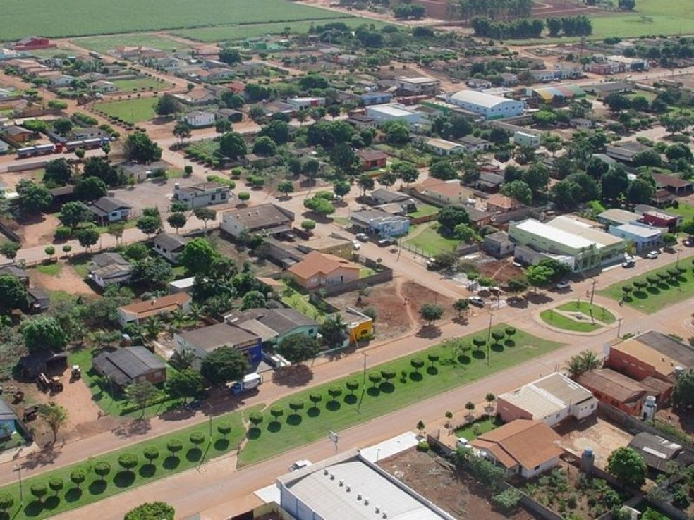 Campos de Júlio: PIB de R$ 1,281 bilhão e densidade demográfica de menos de um habitante por quilômetro quadrado — Foto: Gcom-MT