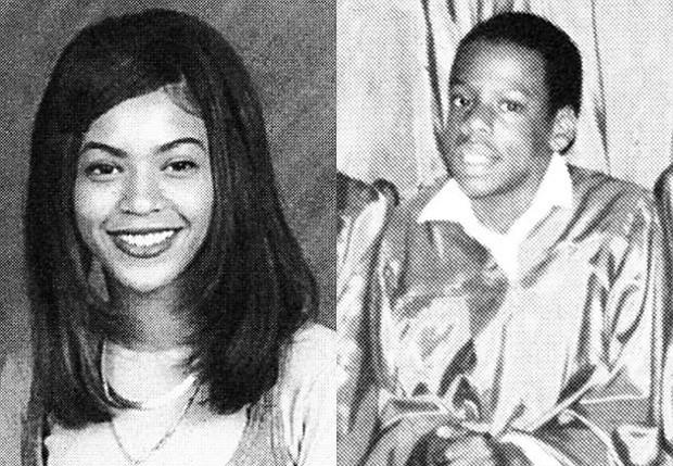 Beyoncé e Jay-Z na adolescência (Foto: Reprodução)