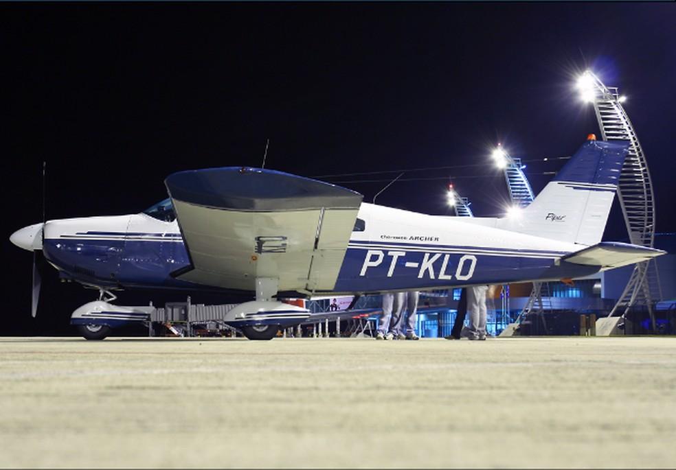 Piper Cherokee PT-KLO — Foto: Reprodução/Arquivo