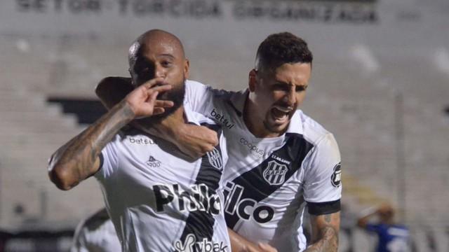 Ponte Preta x Cruzeiro, 31ª rodada Série B, Luizão e Matheus Peixoto