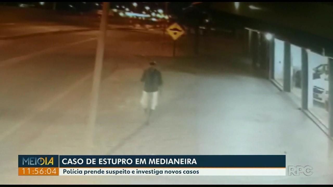 Suspeito de cometer estupros é preso em Medianeira