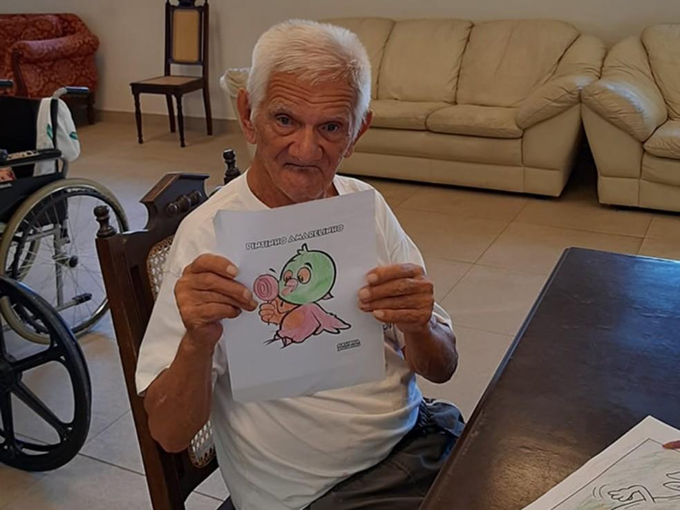 José Ferreira, de 111 anos, deve ser primeiro imunizado contra Covid-19 em Varginha, segundo secretário de Saúde — Foto: Divulgação