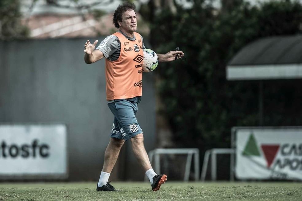 Cuca, técnico do Santos — Foto: Ivan Storti/Santos FC