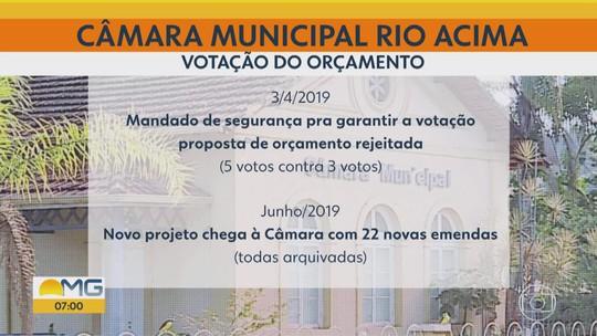 População de Rio Acima fica sem serviços básicos à espera de votação do orçamento