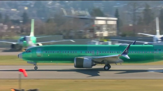 Boeing fará recall de avião com problema nas asas