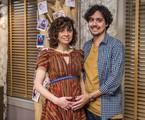 Renata Gaspar e George Sauma serão Taís e Pedro em 'Pais de primeira' | Globo/ Paulo Belote