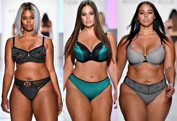 Modelos plus size (Foto: Reprodução Instagram)