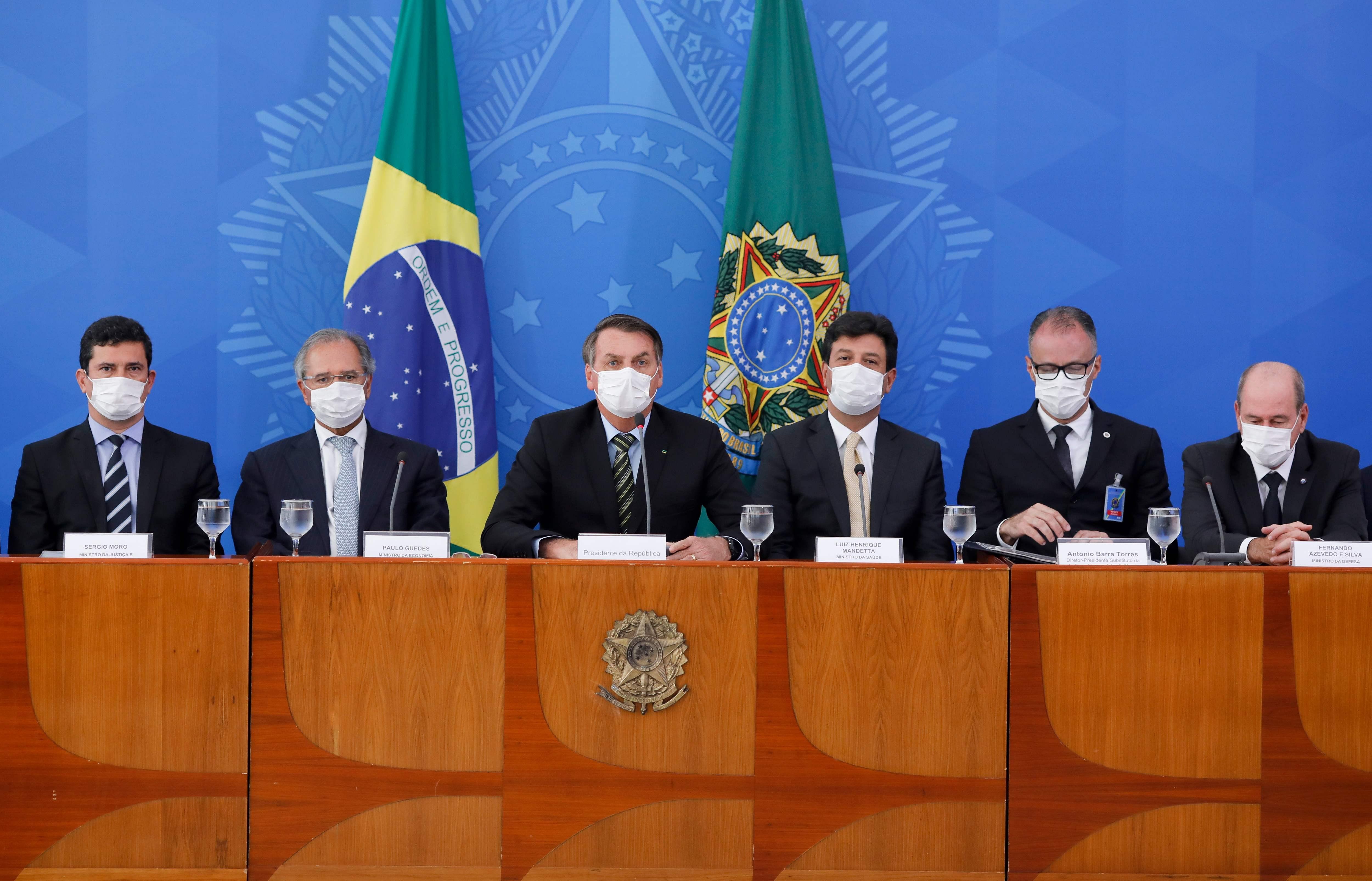 Governo brasileiro estimou gasto de R$ 5 bilhões no combate ao vírus