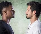 Ramon (David Júnior) e Marcos (Romulo Estrela) | TV Globo