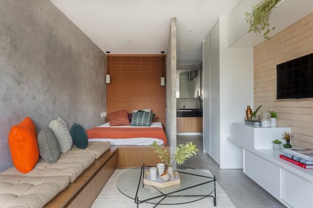 projeto-tria-arquitetura-apartamento-studio (Foto: Alessandro Guimarães / Divulgação)