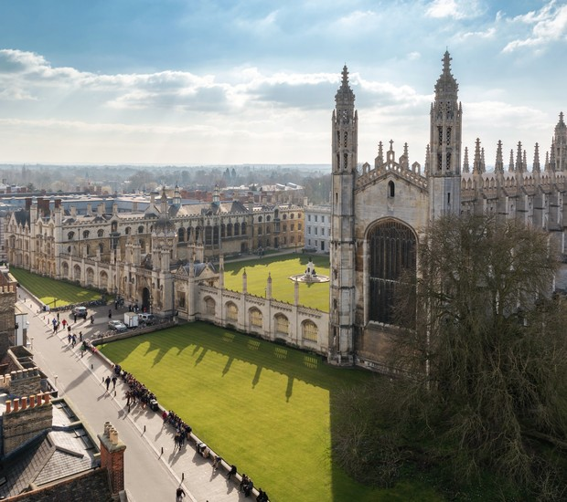 Universidade Cambridge, na Inglaterra (Foto: Thinkstock)