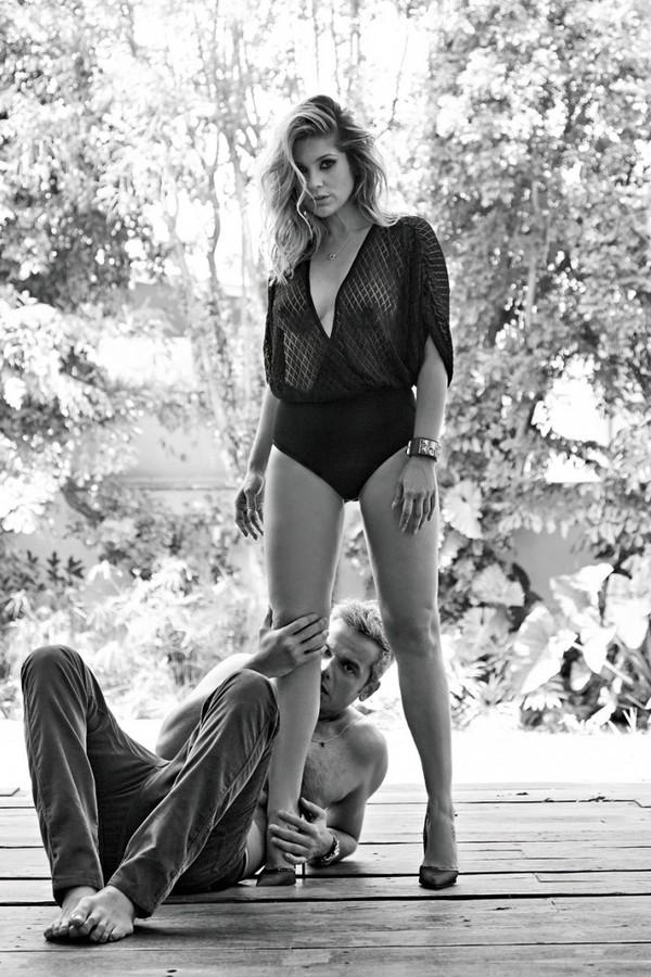 Otaviano Costa e Flávia Alessandra em foto no Instagram (Foto: reprodução/instagram)