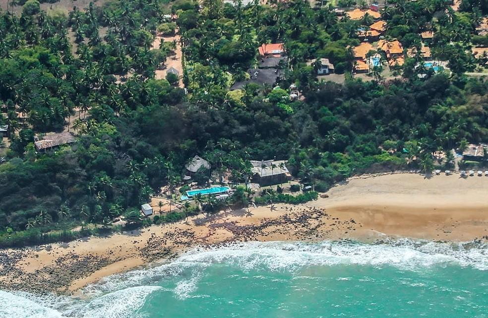 Praia de Pirambu, em Tibau do Sul   (Foto: Canindé Soares)