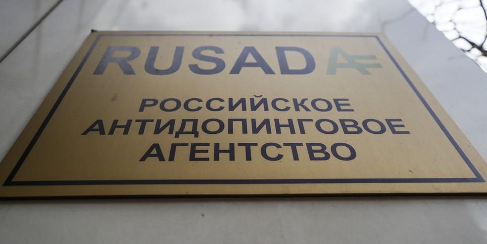 Rusada Agência Antidoping da Rússia — Foto: Maxim Shemetov/Reuters