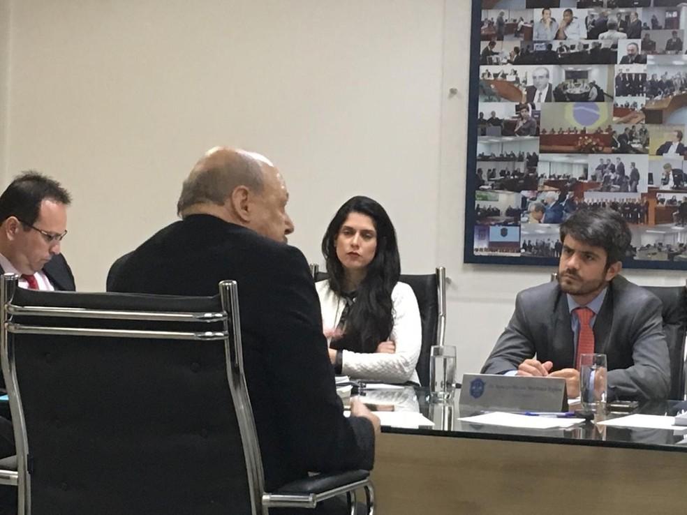 José Carlos Peres foi julgado nesta sexta-feira no STJD — Foto: Tébaro Schmidt