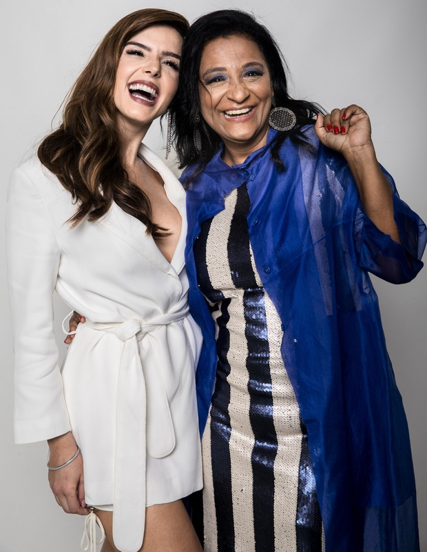 Giovanna Lancllotti e Claudia Di Moura (Foto: Globo/João Miguel Júnior)