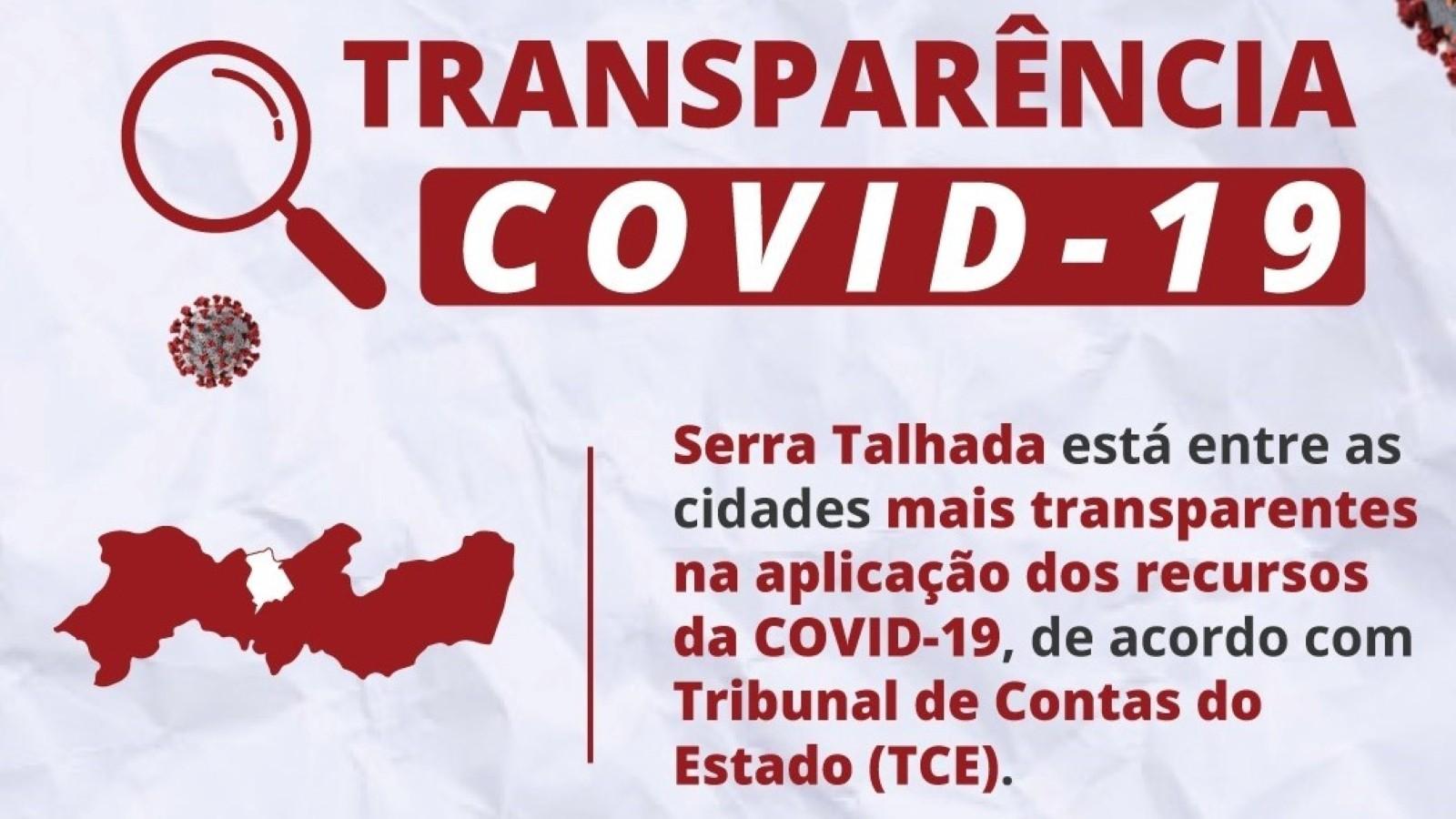 Serra Talhada comemora posição no ranking de transparência da Covid-19 do TCE-PE