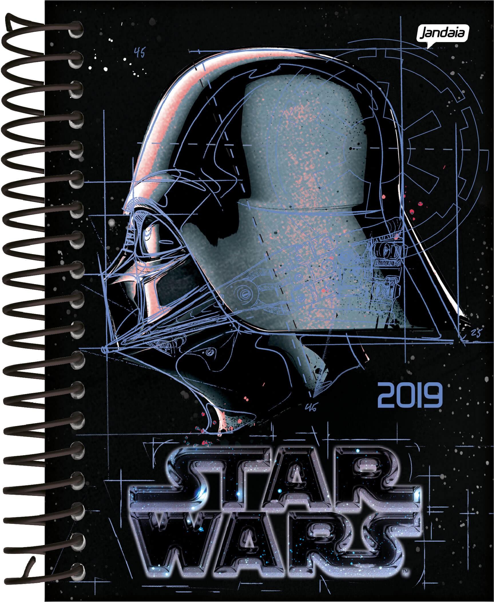 Agenda de Star Wars (Foto: Divulgação)
