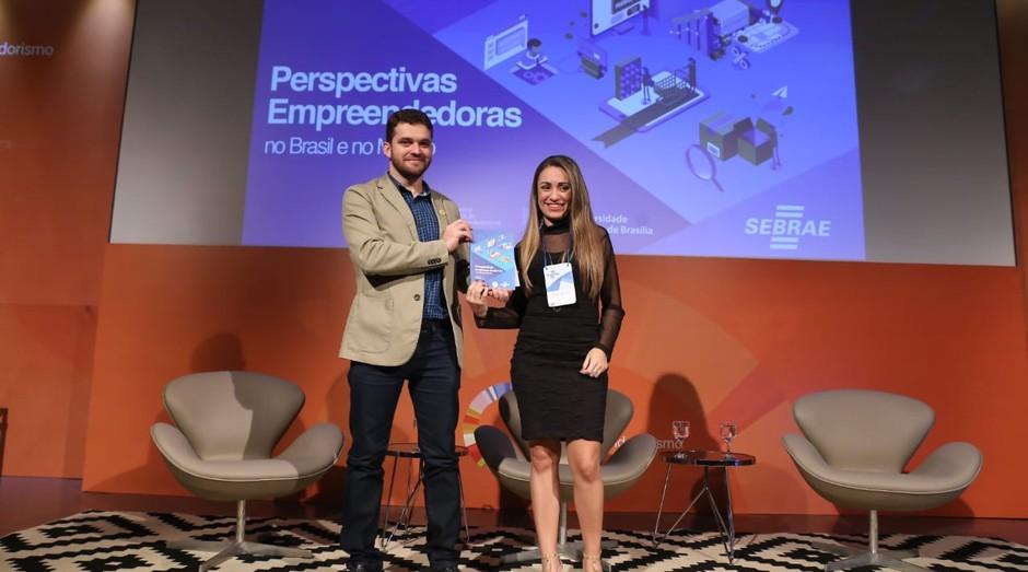 Igor Gomes da Silva e Camila Carvalho, professores de negócios e empreendedorismo da Universidade Católica de Brasília (Foto: Divulgação)