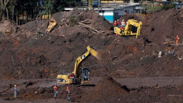 Economista aponta para possível impacto da tragédia de Brumadinho na indústria e até no setor de serviços  (Foto: Reuters/via BBC News Brasil)