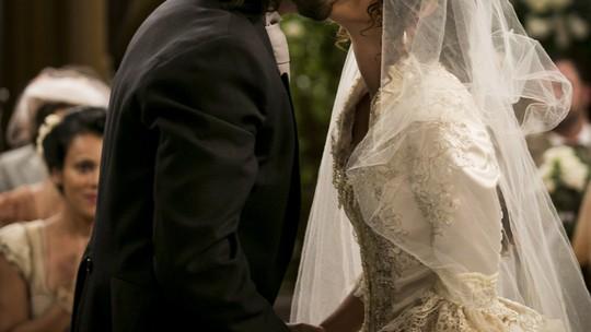 Anaju Dorigon e Marcos Pitombo comentam sucesso do romance entre seus personagens em 'Orgulho e Paixão'