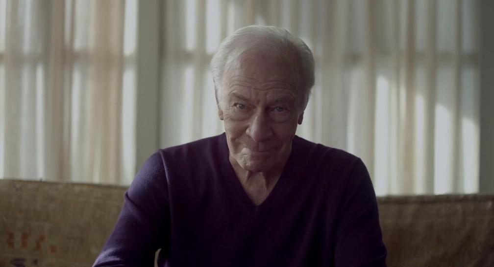Christopher Plummer em 'Toda forma de amor', filme pelo qual ele ganhou o Oscar de ator coajuvante em 2012 — Foto: Divulgação