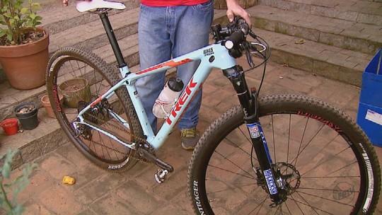 'Vão trocar por droga', diz mecânico que teve bike de R$ 30 mil furtada em Rio Claro