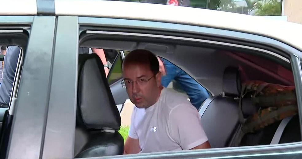 Empresário Rafael Alves é preso em operação no Rio — Foto: Reprodução / TV Globo