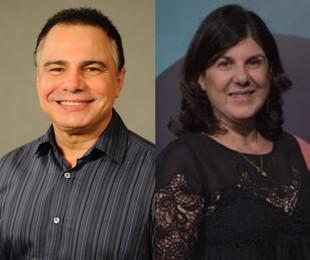 Ricardo Linhares e Maria Helena Nascimento escrevem para as 21h (TV Globo)