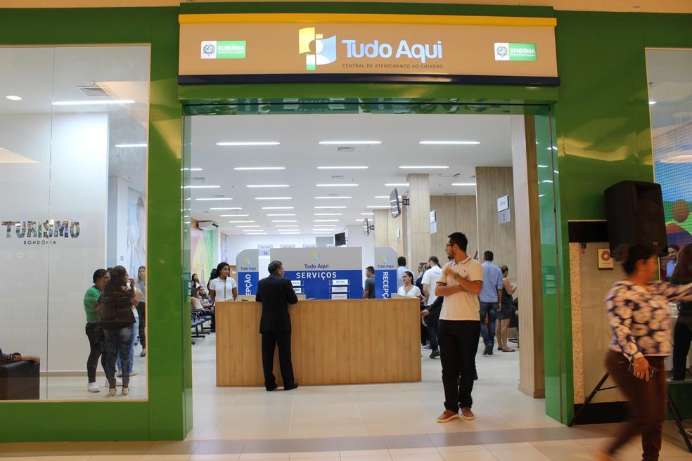 -  Tudo Aqui funciona na Av. 7 de Setembro e no Shopping de Porto Velho  Foto: Hosana Morais/G1
