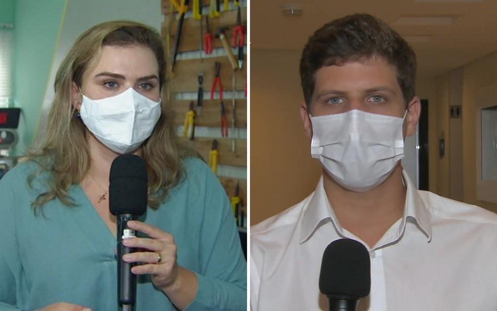 Marília Arraes (PT) e João Campos (PSB) disputam o segundo turno no Recife — Foto: Reprodução/TV Globo
