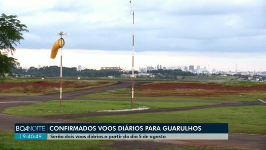Aeroporto de Cascavel começa a operar voos para Guarulhos a partir de agosto, diz companhia