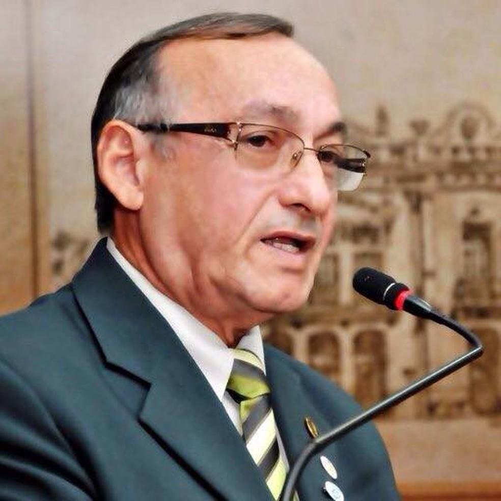 Ary Gomes, do PDT, assume vaga na Câmara (Foto: Reprodução/Facebook)