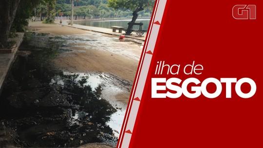 Moradores de Paquetá reclamam do vazamento de esgoto nas ruas