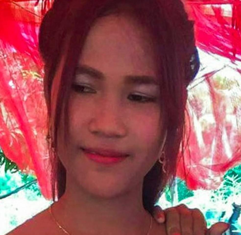 5d1194ed2 ... Campanha na web busca levantar fundos para ajudar a jovem — Foto   Reprodução justgiving