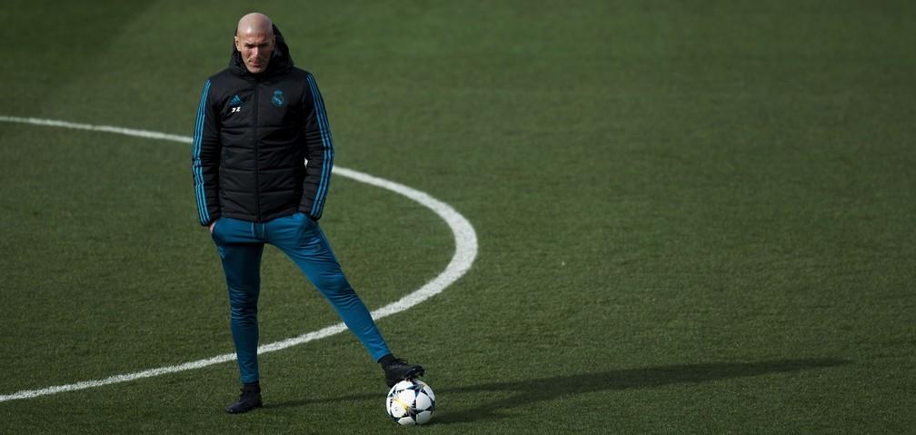 Sem Espanhol e Copa do Rei, Champions é a última esperança de Zidane (Foto: AFP)