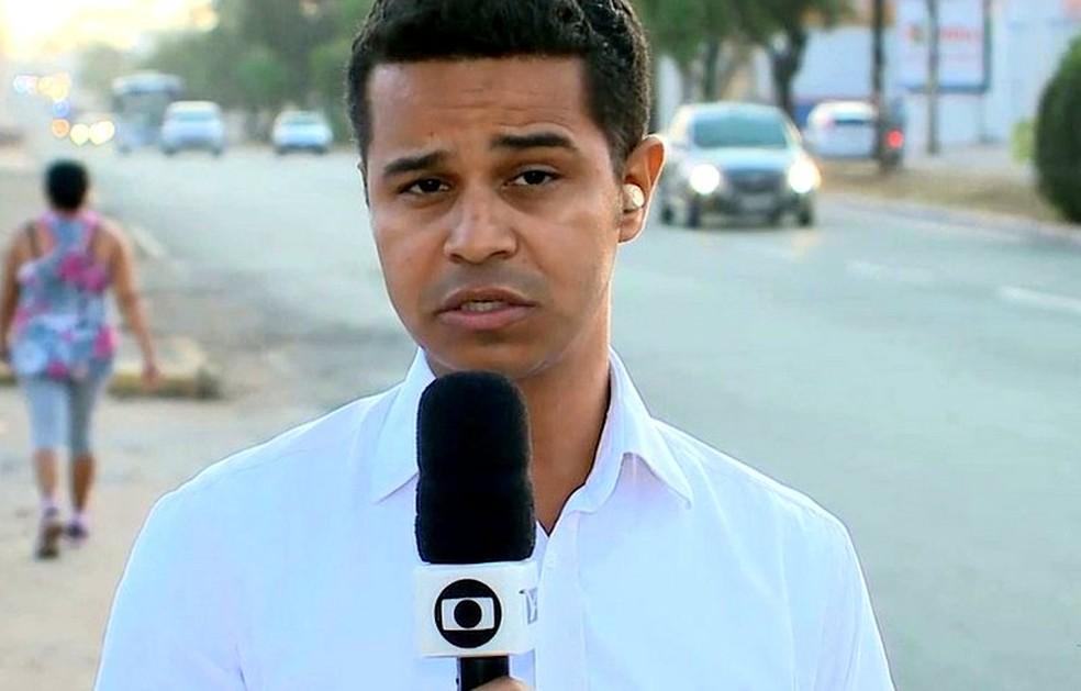Douglas Pinto faz parte do quadro de repórteres do Bom Dia Mirante — Foto: Reprodução/TV Mirante