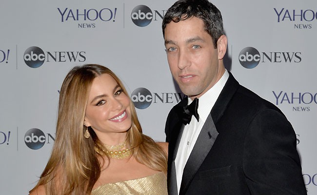 Sofia Vergara com o ex-noivo (Foto: Getty Images)